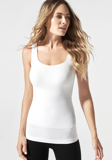 Pull-Down Postpartum + Nursing Support Tanktop