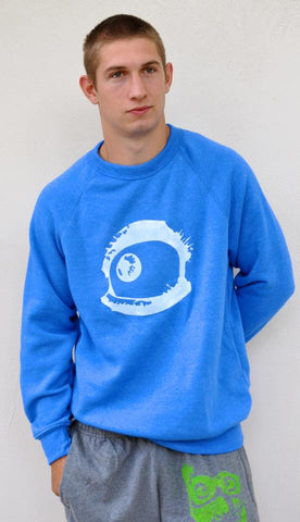 Colbolt Blue Crazy Eye Pullover