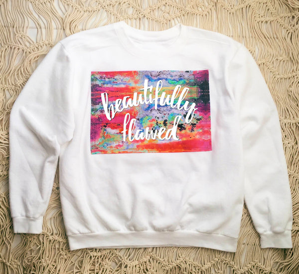 Beautifully Flawed Pullover