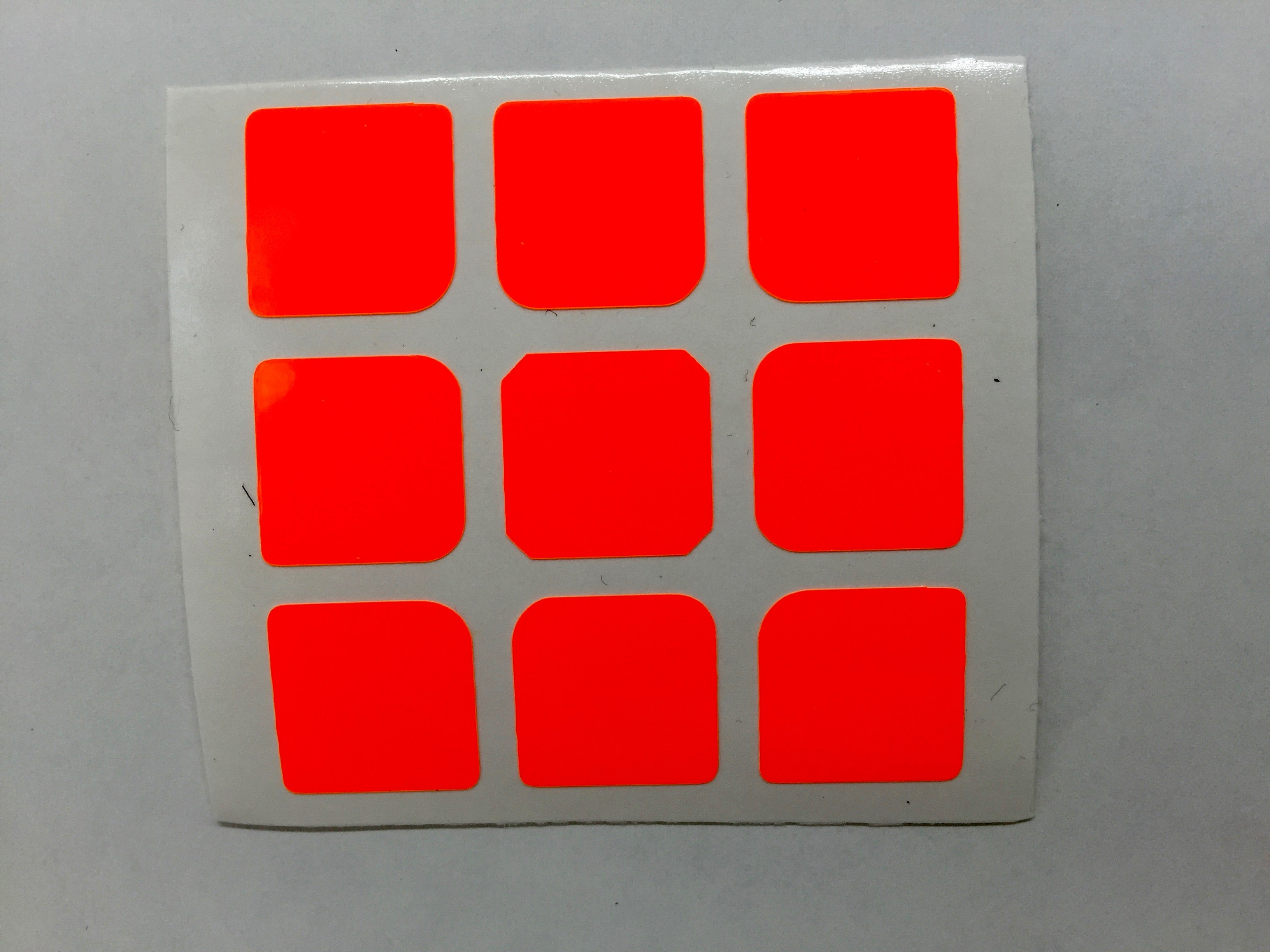 Fluorescent Red-Orange