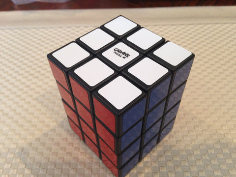 Calvin's 3x3x4 Cuboid with Tony Fisher Logo