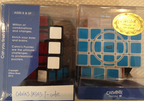 Calvin's 3x3x5 Super T-Cube with Evgeniy Logo