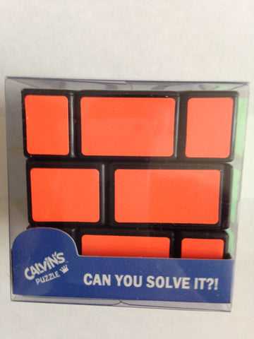 Calvin's Fisher Wall Cube III with Tony Fisher Logo
