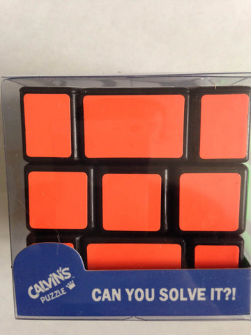 Calvin's Fisher Wall Cube I with Tony Fisher Logo