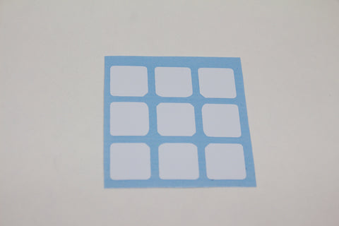 3x3 Stickers - 50mm Dayan