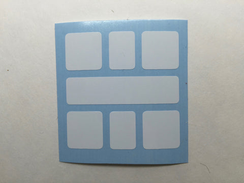 Square-1-1 Stickers - Weilong