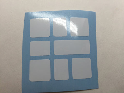 Square-1-2 Stickers - Qiyi
