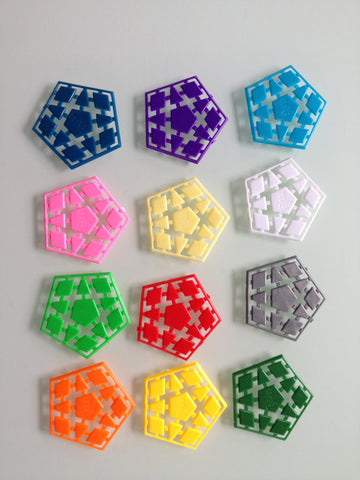 mf8 Megaminx tiles Set