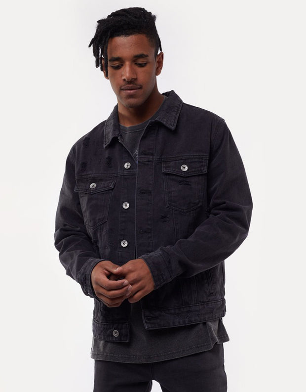 1-4090398.BLK-Black-Jacket-Cobain-denim-Silent-Theory-Live-clothing