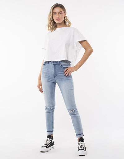 The Vice High Skinny Jean - Indigo Blaze