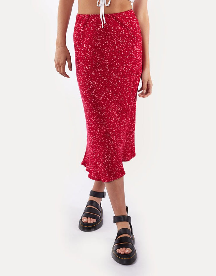 1-6464205-Red-Skirt-Flourishing-All-about-eve-Live-clothing