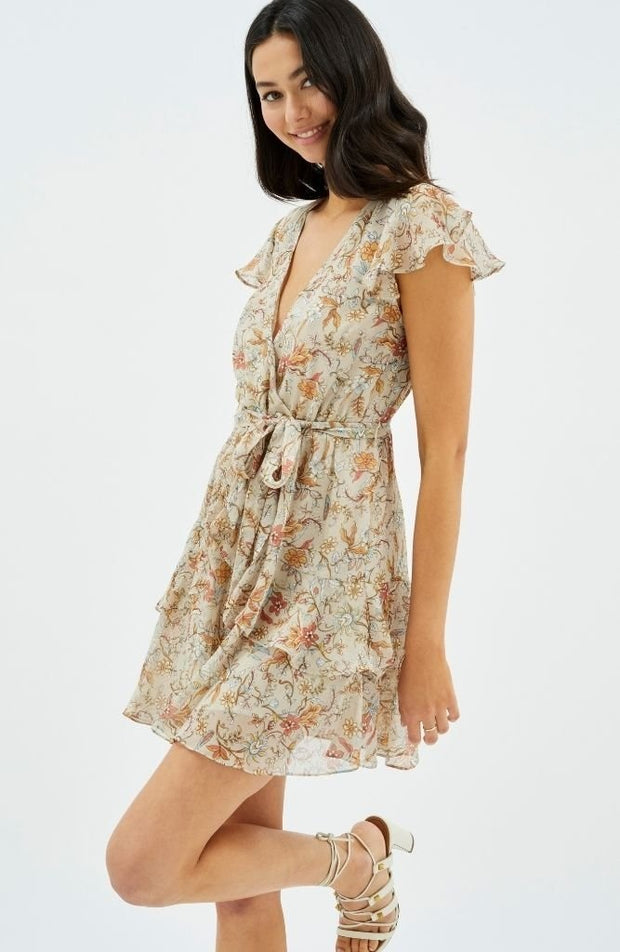 Rosey Frill Mini Dress