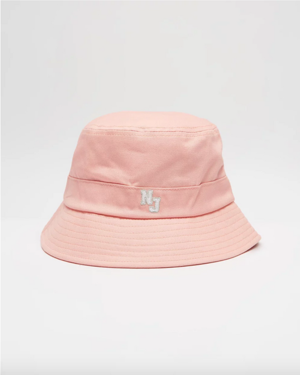 1-NW2702A-Coral-Hat-Nj-authentic-varisity-bucket-Nana-judy-Live-clothing