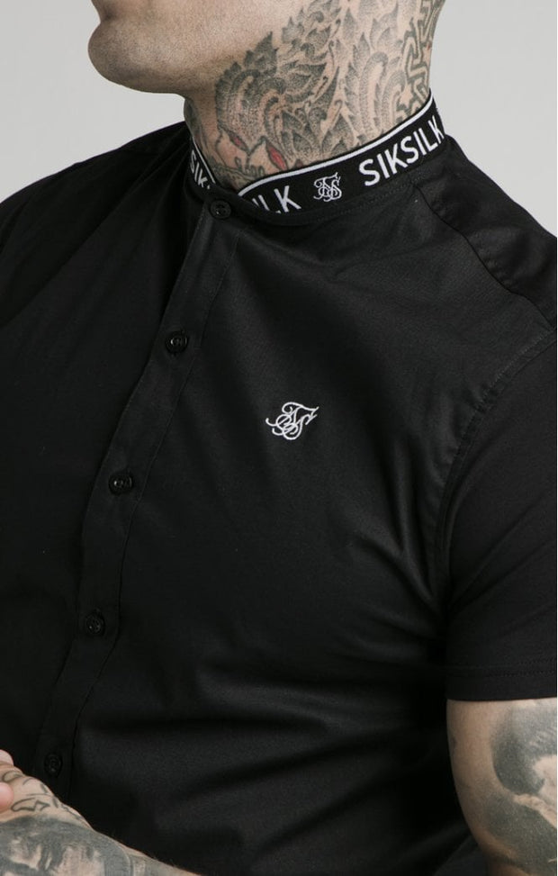 1-SS-16802-Shirt-Tape-collar-Siksilk-Live-clothing