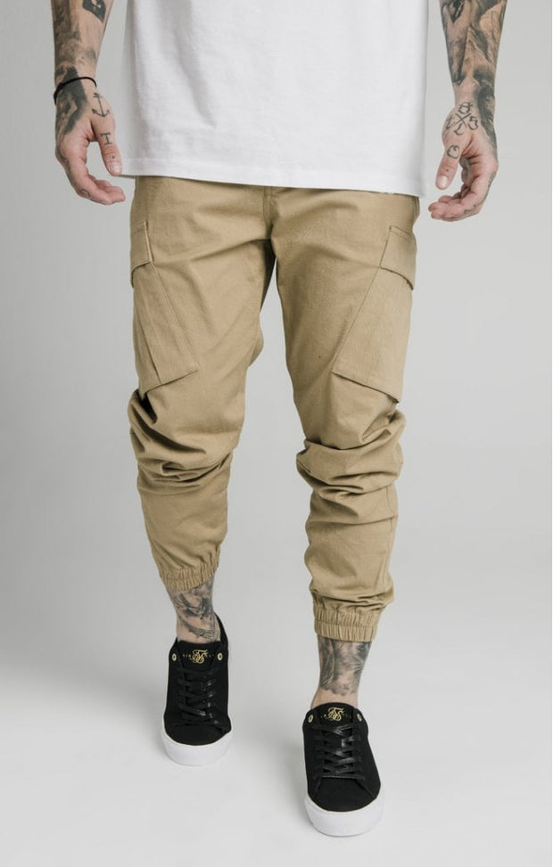 1-SS-17102-Tan-Pant-Cargo-Siksilk-Live-Clothing