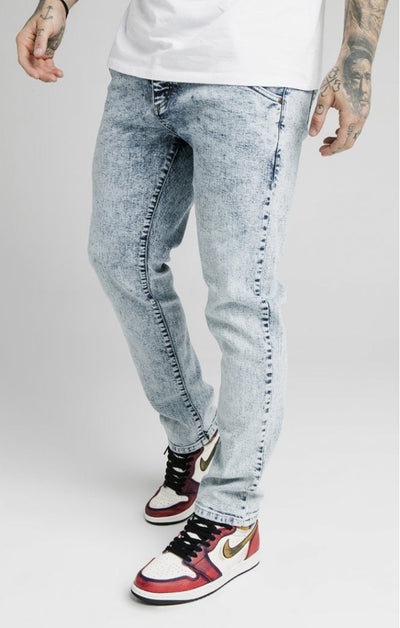 1-SS-18038-Light-blue-Denim-Straight-cut-recycled-Siksilk-Live-clothing