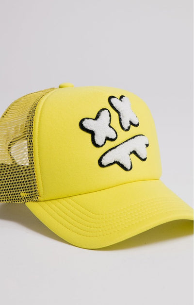 Steve Aoki Mesh Trucker Yellow