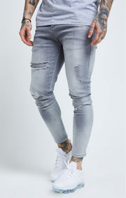 1-SS-19550-Grey-Denim-Skinny-distressed-SIksilk-Live-clothing