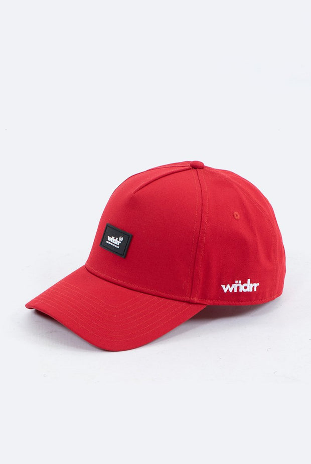 1-W20HG003RED-Red-Cap-Blade-snapback-Wndrr-Live-clothing