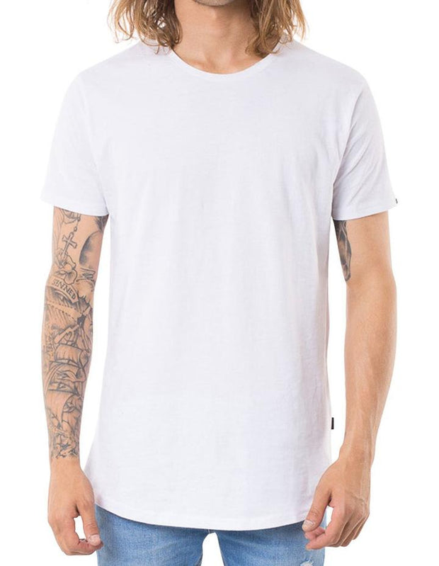 Acid Tail Tee White (r)