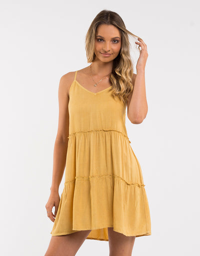 1_6443083_Yellow-Saffron_dress_All-About-Eve_Supple-Washed-Dress