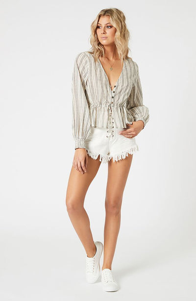 Zeal Lace Up Shorts
