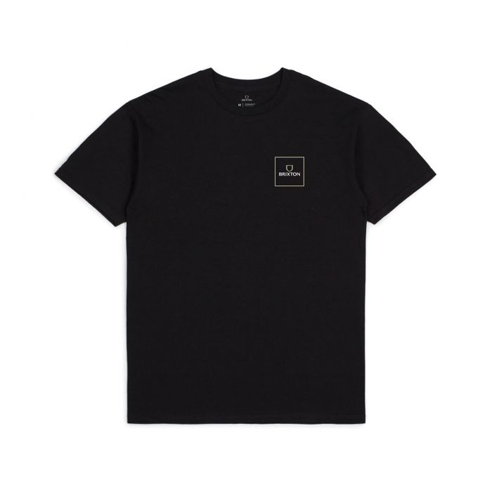 Alpha Square Ss Tee - Black