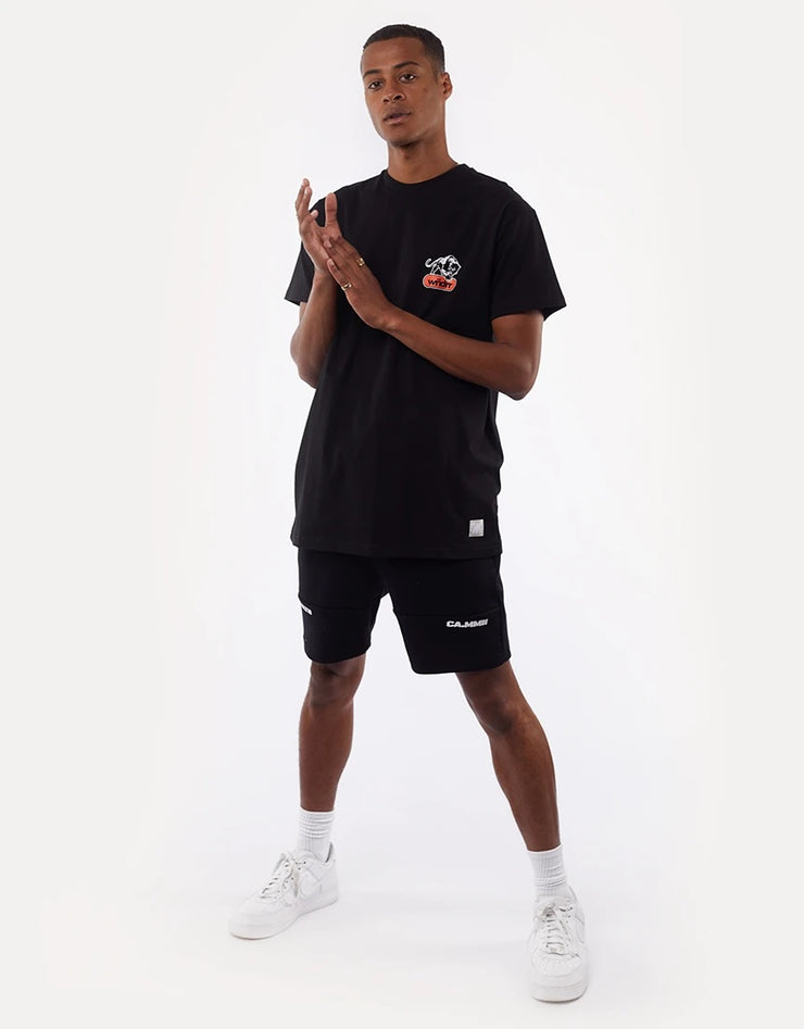 Yorke Fleece Short -  Black