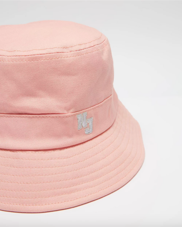 Nj Authentic Varisty Bucket Hat - Coral