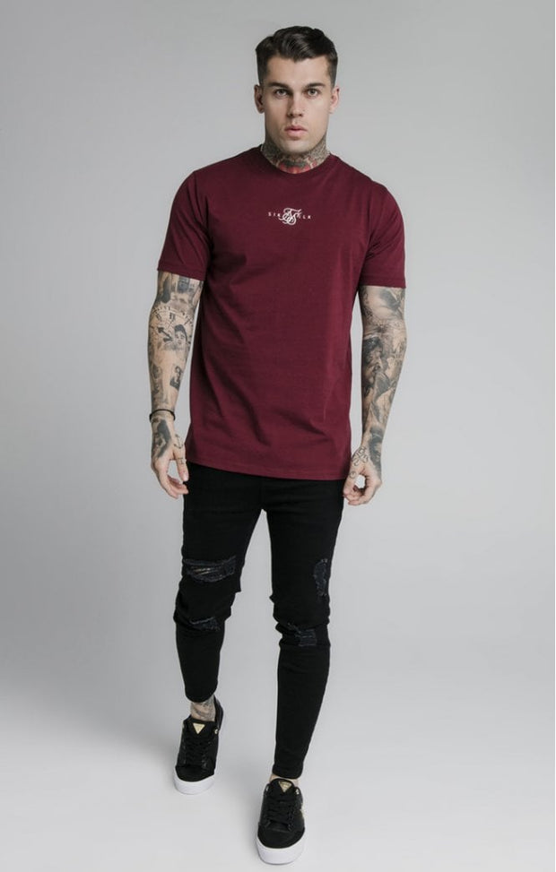 Basic Core Tee Burgundy