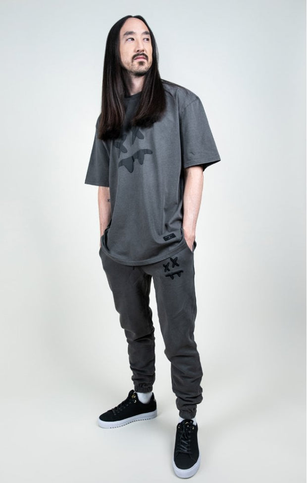 Steve Aoki Essential Tee Grey