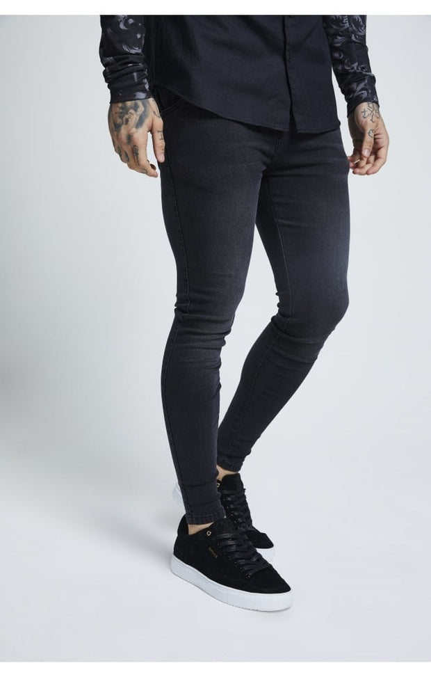 Skinny Denims - Washed Black