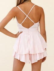Sundays Best Playsuit - Baby Pink