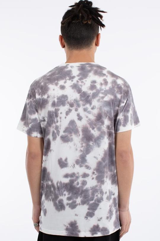 Oversteer Tie Dye Custom Fit Tee - Grey