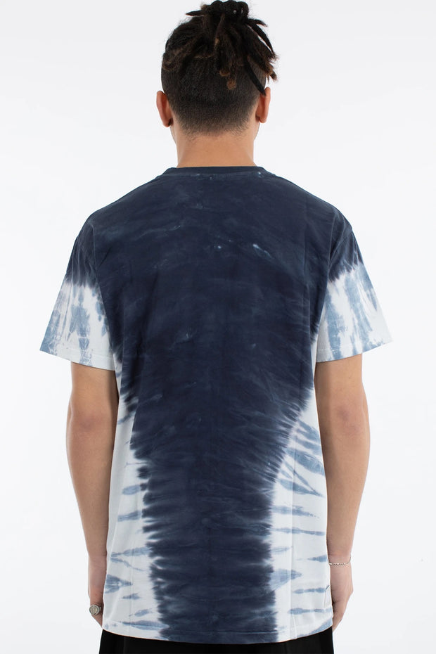 Hooper Tie Dye Custom Fit Tee - Blue