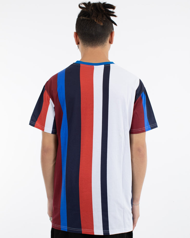 Nest Vert Stripe 3 Panel Custom Fit Tee