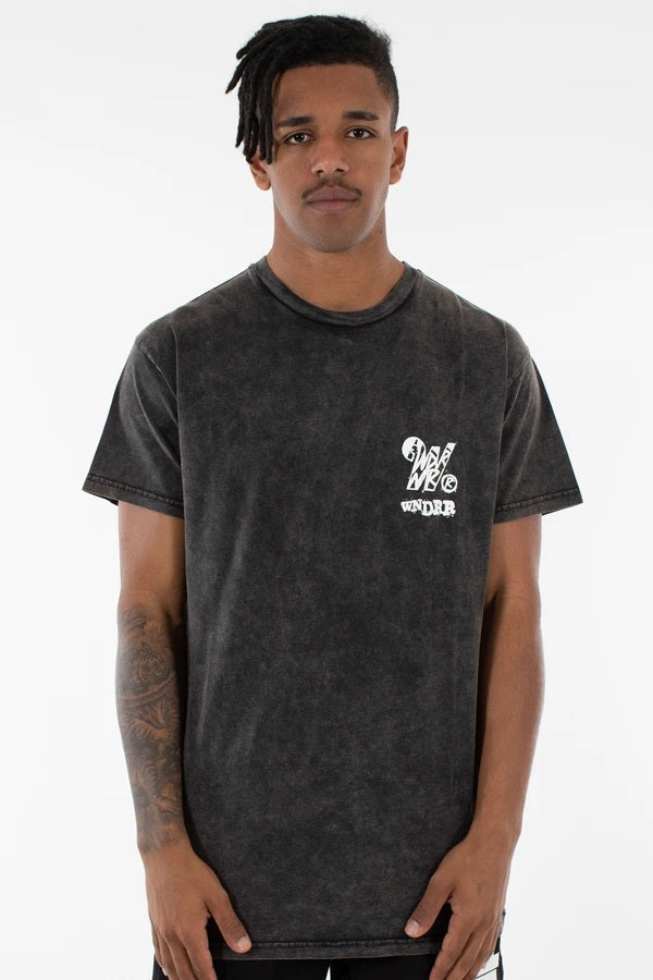 Crash Custom Fit Tee Washed Black
