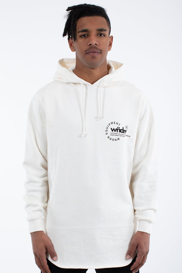Stage Curved Hood Sweat - Off White