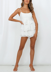 Lover Playsuit White