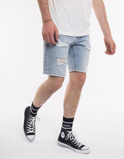 Ramble Ripped Short - Blue