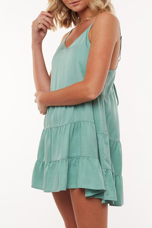Byron Dress - Mint