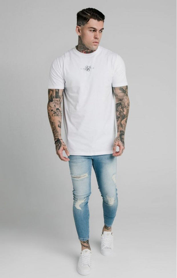Skinny Distressed - Light Wash