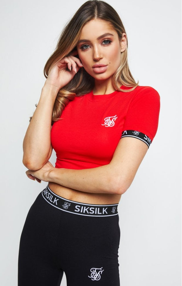 Crop Tech Tee - Red