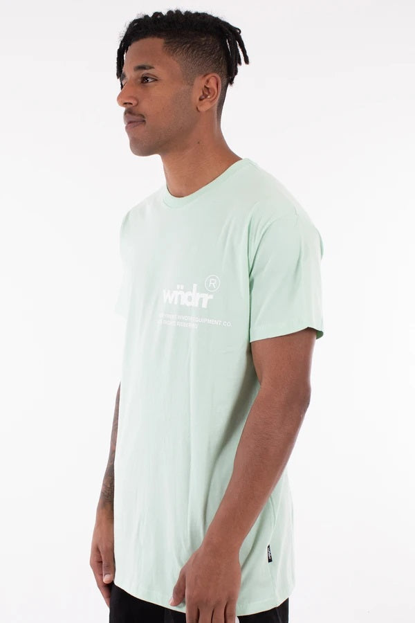 Offcut Custom Fit Tee - Lime