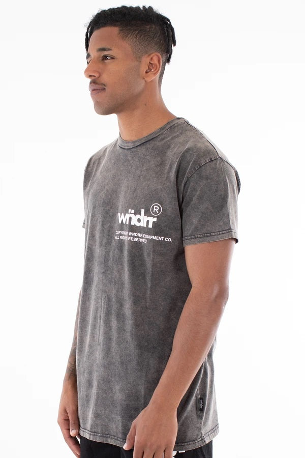 Offcut Custom Fit Tee Washed Black