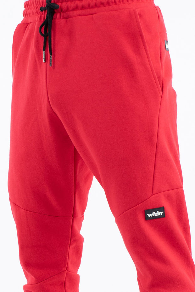 Hoxton V2 Tech Trackpant - Red