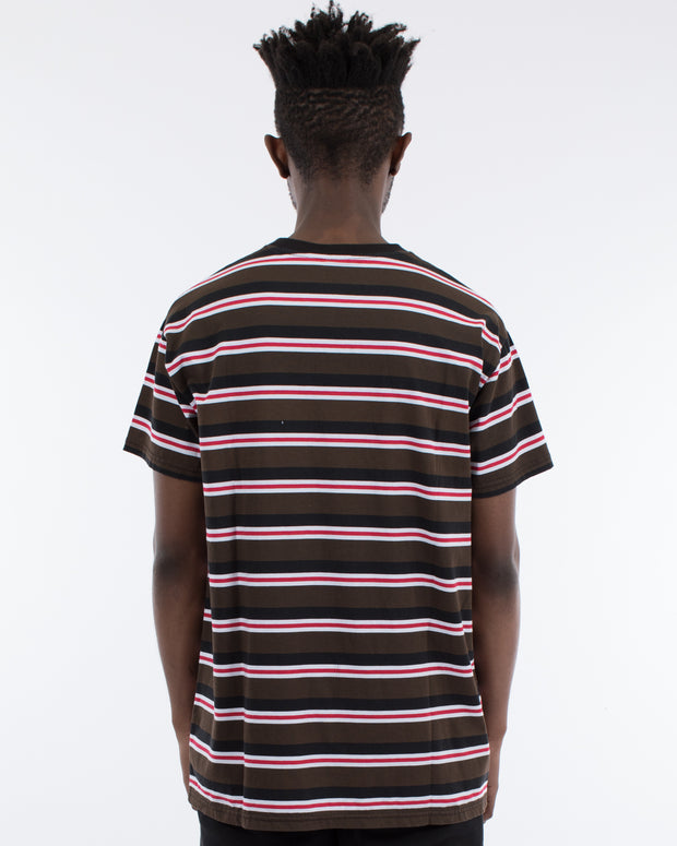 Assembled Stripe Tee