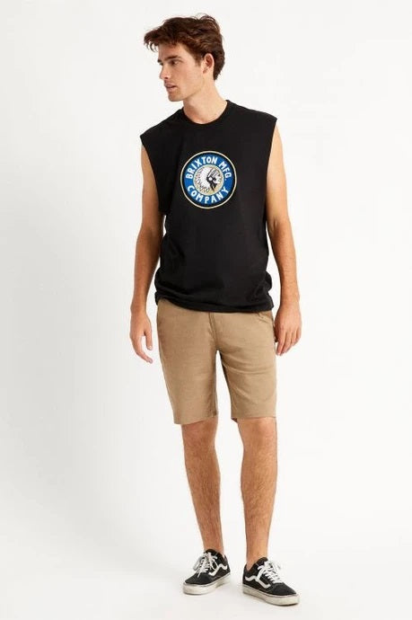 Rival Muscle Tee - Black