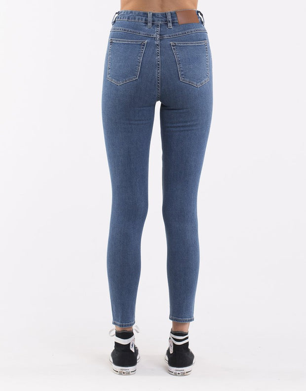The Vice High Skinny Jean - Blue Bell