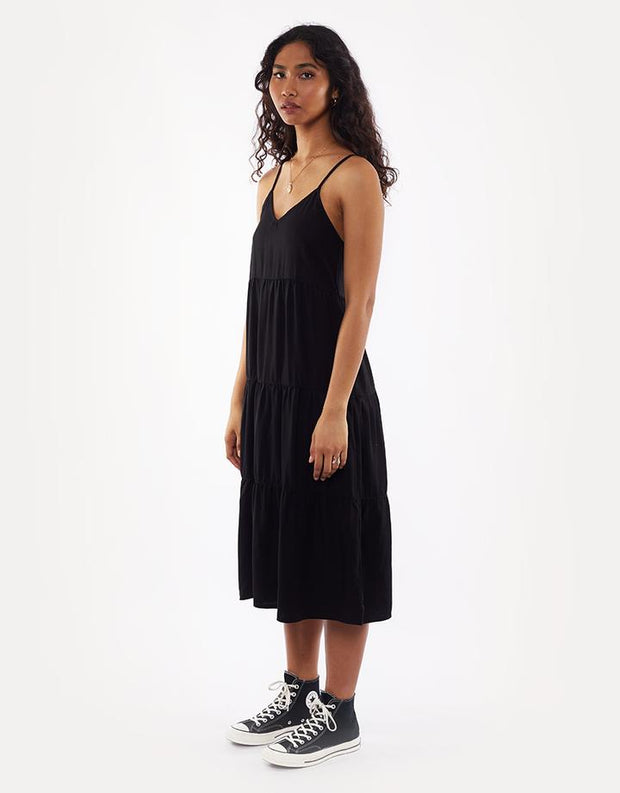 Bondi Midi Dress - Black
